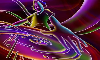 Neon DJ